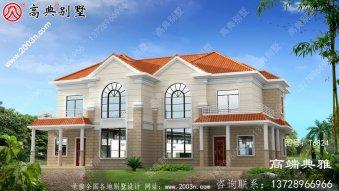 乡村简欧风格的两层别墅超级漂亮,清新典雅。