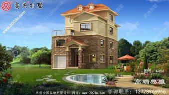 农村小户型房子四层房屋设计图,农村自建别墅