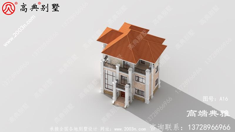 新农村建设个人别墅建筑设计施工图纸,整套别墅设计图纸