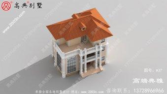 新农村自建推荐的经典三层别墅设计图纸(全套施