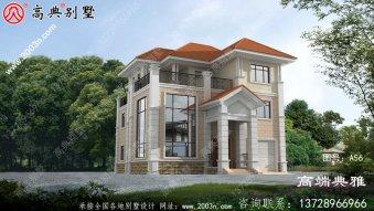 196平米三层带露台的复式别墅设计工程图纸