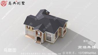 小型自建两层别墅设计图成本经济,施工简单