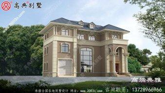 新农村自建推荐的经典三层别墅设