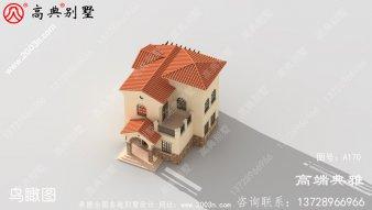 90平两层复式别墅房屋设计图,含外型设计效果图