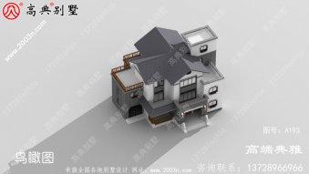 农村三层别墅新户型设计图纸大全,240平简欧风