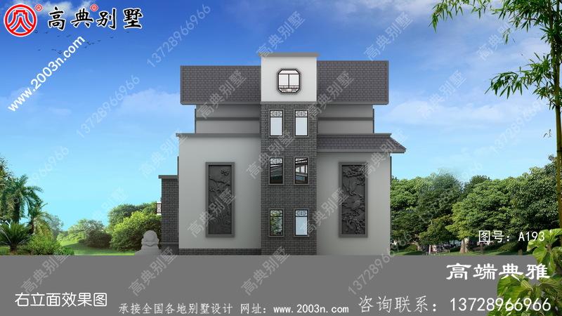 农村三层别墅新户型设计图纸大全,240平简欧风格