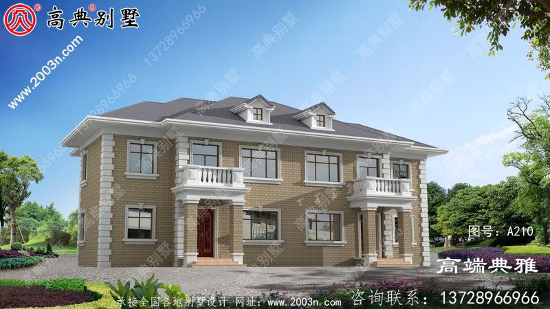 120平房屋设计图纸及效果图,推荐农村自建房屋类型