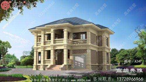 造价40万内的两层别墅住宅设计方