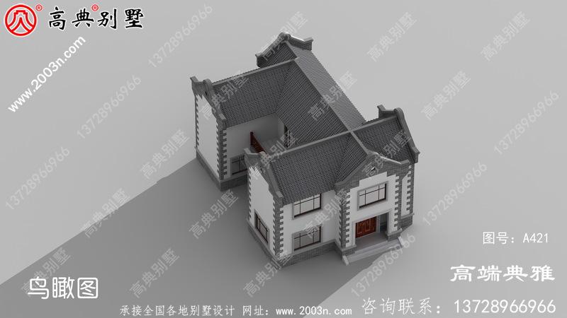 农村自建中式一层别墅户型图设计,經典好用、贴近生活