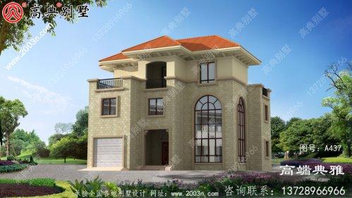 新农村建设三层房屋设计图纸全集,新农村住宅
