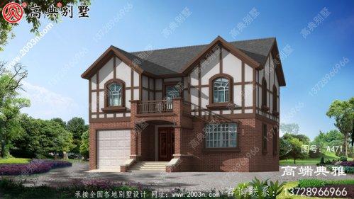最新欧式两层别墅设计图纸,超漂亮,预算30