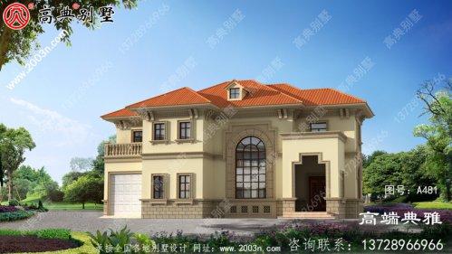 最新两层别墅设计图,复式设计外