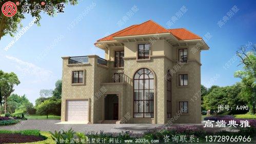 高端三层别墅住宅设计方案及效果