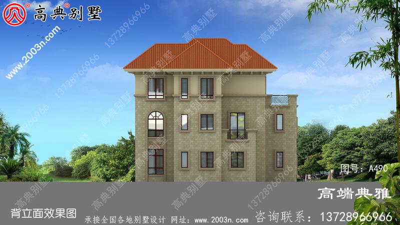 高端三层别墅住宅设计方案及效果图