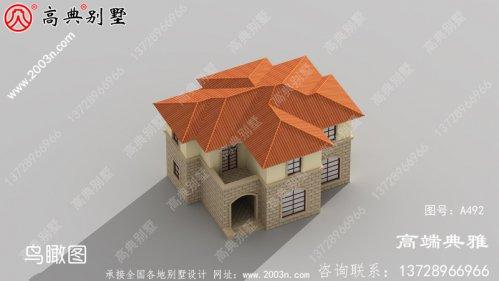 简欧两层别墅的设计效果图,户型