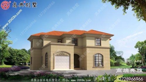 181平方米大农村三层别墅房屋设计图,户型宽敞
