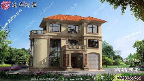 新农村自建房屋设计和效果图的完整集合,及房