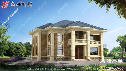 191平米农村房屋设计图占地面积适宜,外观舒适