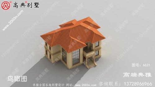 农村好看的两层小楼图,外观、造