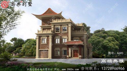四层别墅设计图及效果图,南北通透