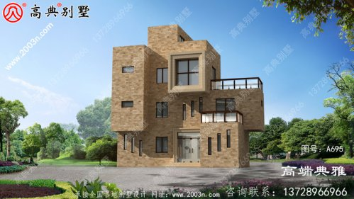 87平方三层楼房设计图及图片,户型设计简约时尚