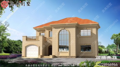 农村别墅住宅设计简单,美观实惠,施工简单