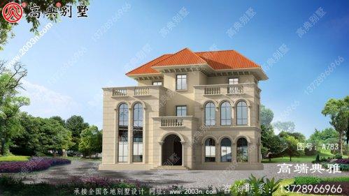 169平米自建别墅设计图,农村大别墅经典户型图