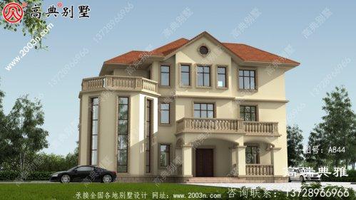 新农村建设三层房子住宅设计图纸