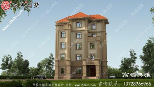新农村五层住宅的经典实用设计图纸推荐自建。