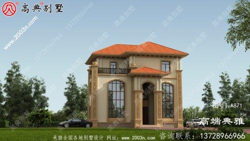 三层欧式别墅双复式客厅住宅设计