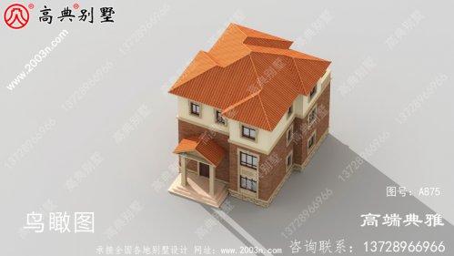 三层别墅设计图纸,欧式古典带外