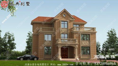 149平方米三层豪华别墅及农村住宅