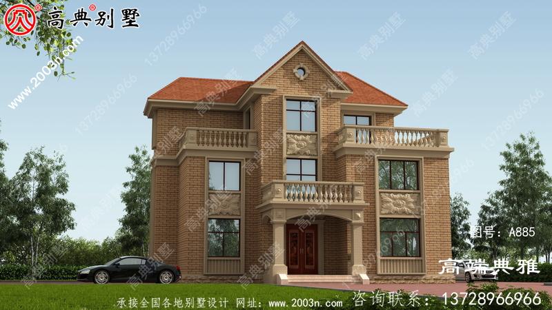 149平方米三层豪华别墅及农村住宅设计施工图