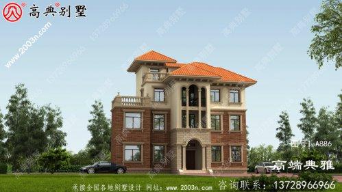 欧式三层别墅设计工程图纸全集,