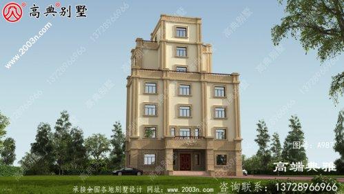 乡村自建欧式大型住宅设计图纸,城堡般的居住