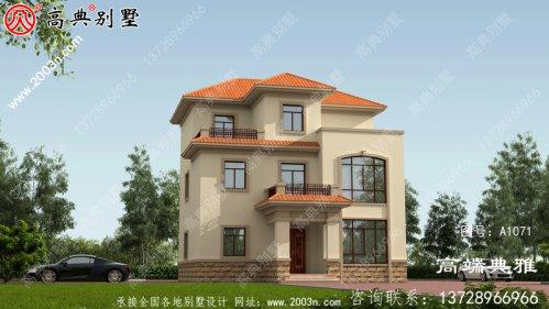 30万以内大楼的新农村住宅设计图和外观图