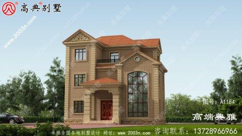 115平方米新农村自建三层别墅施工图