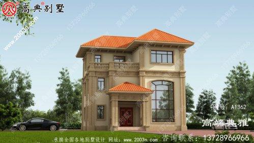 好看好用的复式欧式别墅建筑设计