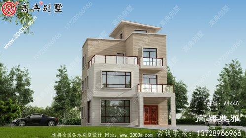 138平方米四层别墅设计CAD图纸和效果图