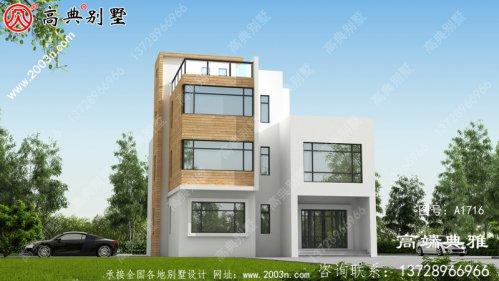 1140平方米新农村自建现代三层建
