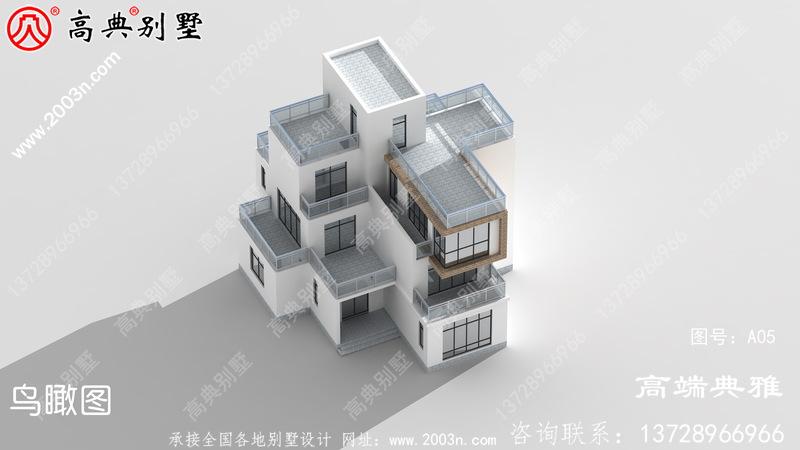 40万内的现代自建别墅建筑设计图纸和效果图