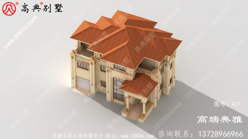 178平方米的欧式三层别墅设计,带