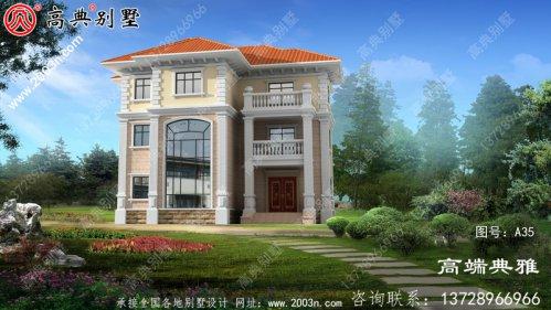 154平方米新农村住宅设计图纸,推荐农村自建