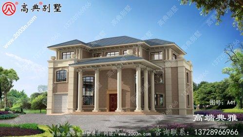 三层复式住宅设计图面积259平方米