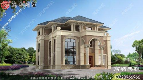 三层豪华别墅设计图及效果图,高端房屋设计方