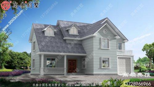 乡村简约的三层设计简单美观,经典时尚。