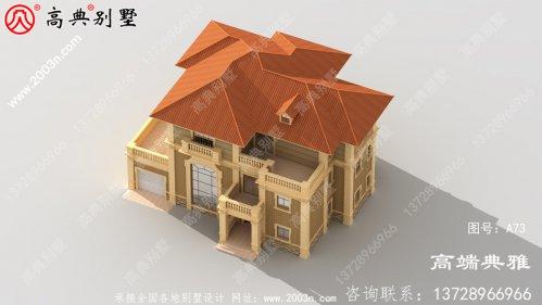 三层大户型自建住宅的设计图简单
