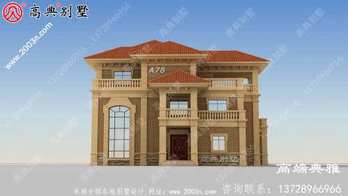 农村三层带复式设计房屋设计图纸,造价50万内