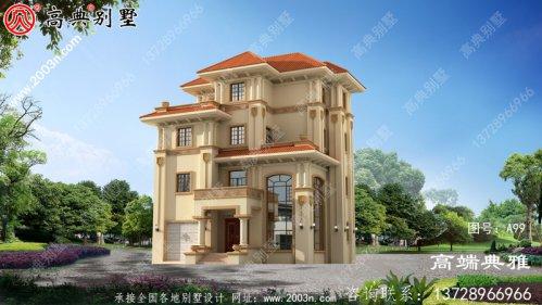 乡村三层楼房设计图带复式设计,大气奢华