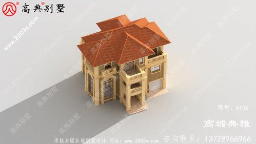 140平方米新农村住宅设计图纸,三层住宅设计方